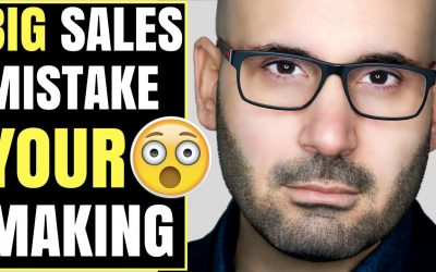 The number one mistake the salespeople make when selling online