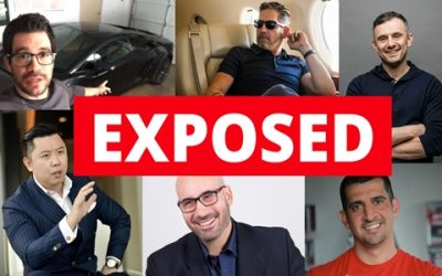 Grant Cardone, Gary Vaynerchuck, Patrick Bet David, Dan Lok and Tai Lopez Exposed.
