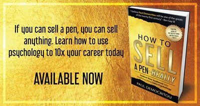 How to Sell a Pen Really. A powerful book on how to use Sales Psychology