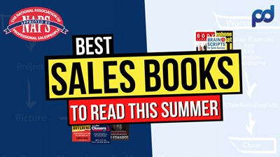 The 5 BEST Sales Books to READ This Summer