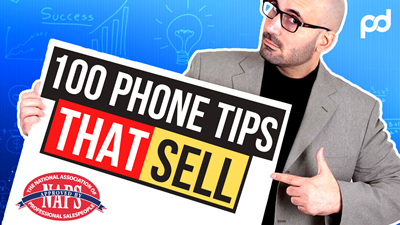 100 Telephone tips that SELL